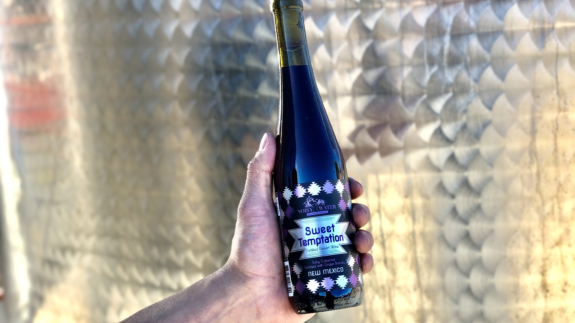 Noisy Water Winery's 2019 Wild Ferment Old Vine Pinot Noir
